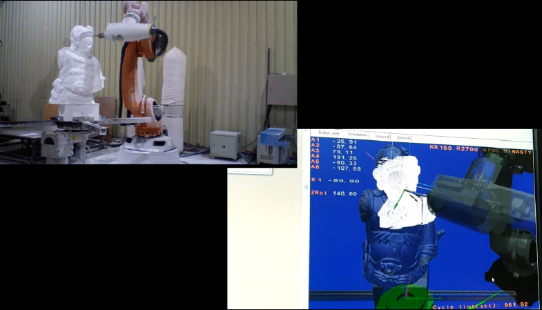 Robot Simulation Software (RoboMove) - Realistic Simulation