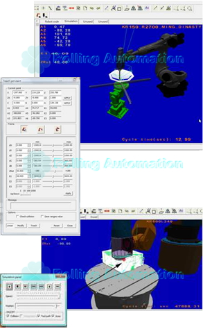 Robot Simulation Software (RoboMOVE) - Rolling-auto Supplier