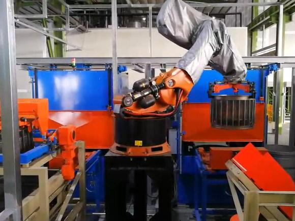 Robotic Arm Palletizing Automation System Feature